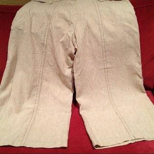 Charlotte Russe Pants & Jumpsuits - Super Wide Leg Capris